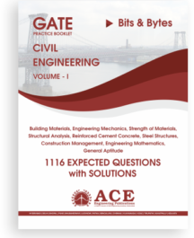 Civil engg GATE Practice booklet Volume 1