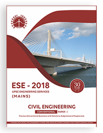 ESE 2018 UPSC Mains Civil Engineering Conventional Paper 1