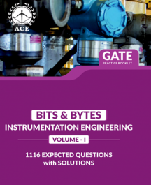GATE 2020 Bits-Byts Practice Questions With Solutions Volume-2 for Instrumentation Engineering