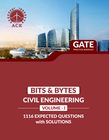GATE-2020 Bits-Byts Practice Questions With Solutions Volume-1 for Civil Engineering