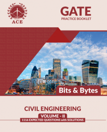 GATE 2020 Bits-Byts Practice Questions With Solutions Volume-2 for Civil Engineering