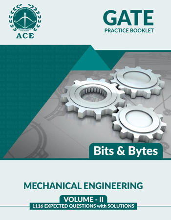 GATE-2020 Practice Questions With Solutions Volume-2 for Mechanical Engineering