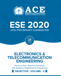 ESE-2020 UPSC Preliminary Examination questions with solutions Volume-2 for Electronics & tele communication Engineering