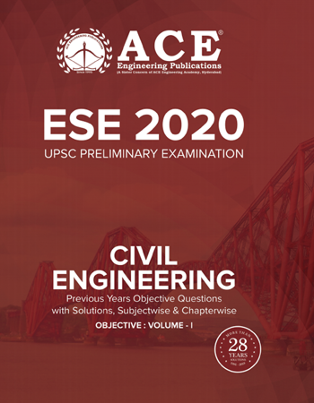 ESE 2019 Mains Conventional Paper I Previous Conventional Questions With Solutions for Civil Engineering