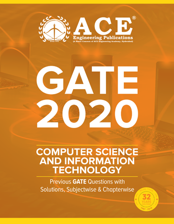 GATE – 2020 Previous GATE Questions With Solutions for Computer Science And Information Technology
