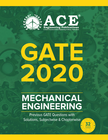 GATE – 2020 Previous Questions With Solutions for Mechanical Engineering