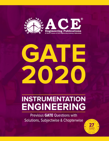 GATE-2020 Previous GATE Questions With Solutions for Instrumentation Engineering