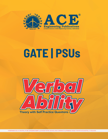 Theory of Verbal Ability With Self Practice Questions for GATE & PSUs