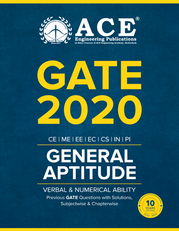 General Aptitude Previous Questions With Solutions for GATE