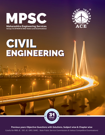 MPSC Previous Objective Questions Papers With Solutions for Civil Engineering