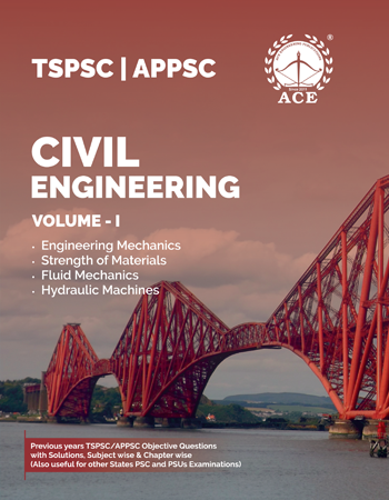 TSPSC & APPSC Previous Objective Questions With Solutions Volume -1 for Civil Engineering